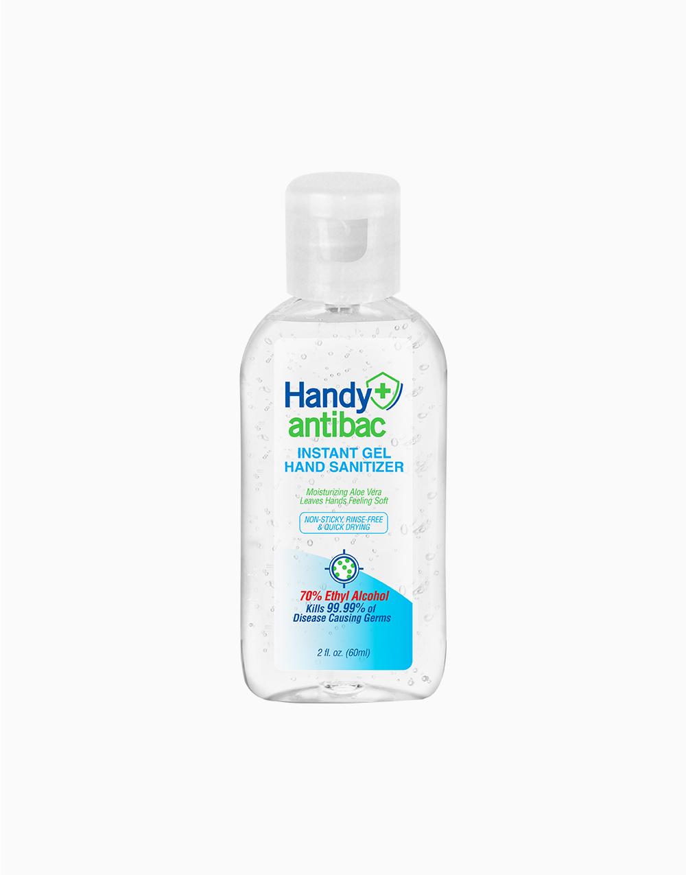 Handy Antibac Instant Gel Hand Sanitizer (60ml) by Handy Antibac