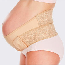 Mamaway ergonomic maternity support belt pregnancy lift sleep   back pain relief nude 2