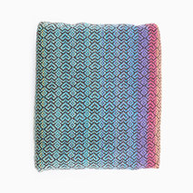 Rainbow Hearts Handwoven Wrap by Shadrach Co
