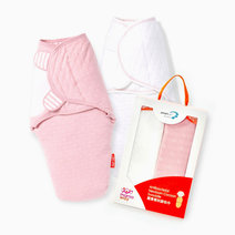 Mamaway newborn cocoon swaddle pink