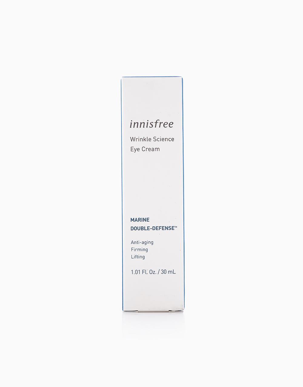 Wrinkle Science Eye Cream (30ml) by Innisfree
