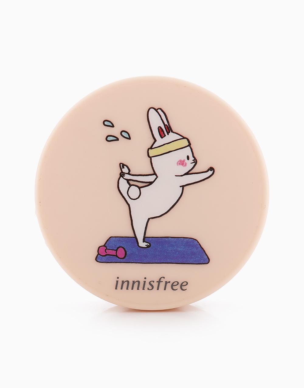 No Sebum Mineral Powder Happy Bunny Edition (5g) by Innisfree | #8 Upward Facing Bunny