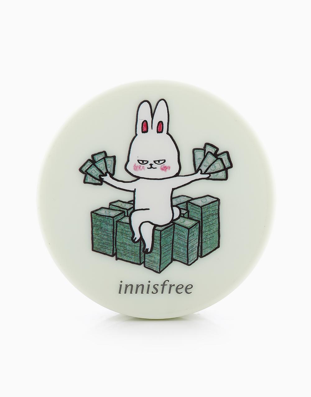 No Sebum Mineral Powder Happy Bunny Edition (5g) by Innisfree | #7 Crazy Rich Bunny