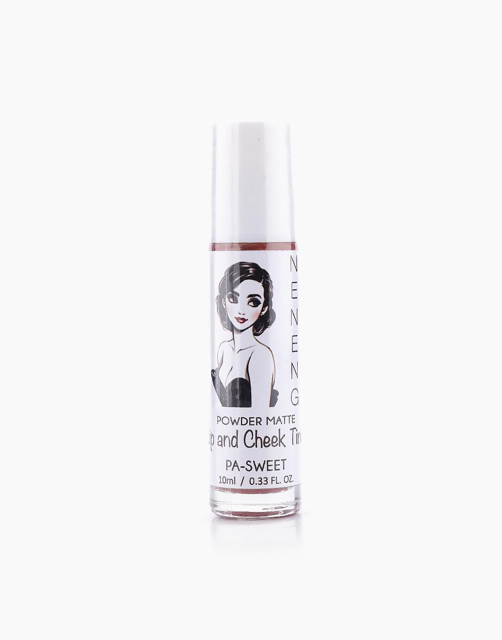 Powder Matte Lip and Cheek Tint by Neneng | Pa-Sweet (Blushy Nude)