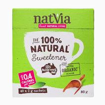 Natvia Organics Stevia 40 Stick Pack (2g) by Natvia Organic Stevia
