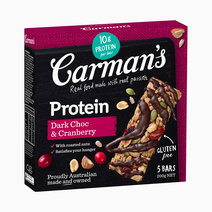 Carmans dark choc cranberry protein bar