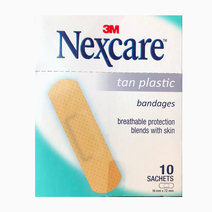 Tan Plastic Bandage (10s) by Nexcare