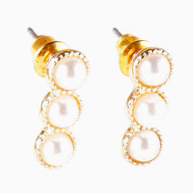 Rona (3 Pearl Stud Earrings) by Aine