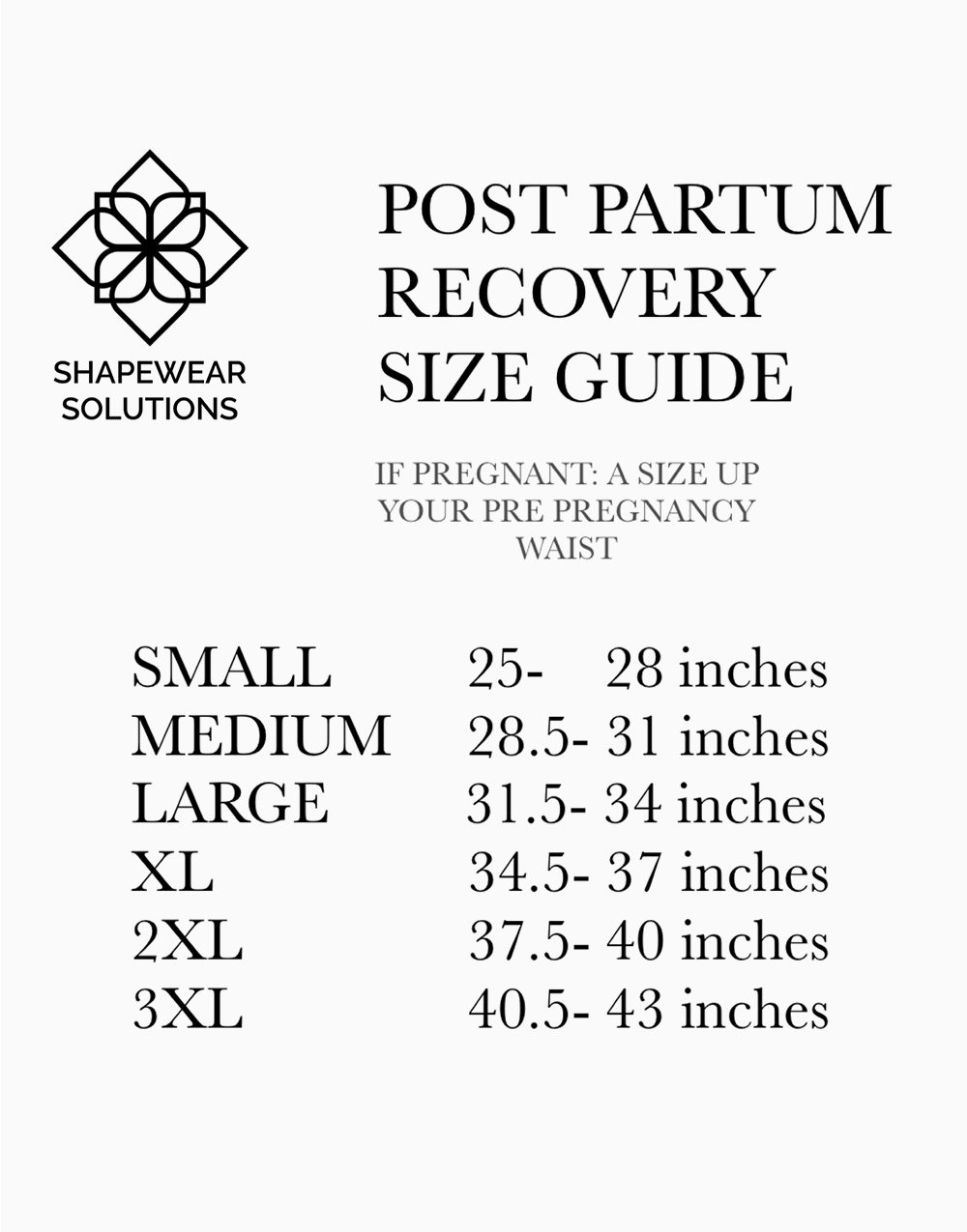 RITZ Post Partum Recovery Shapewear - Nude by Shapewear Solutions  