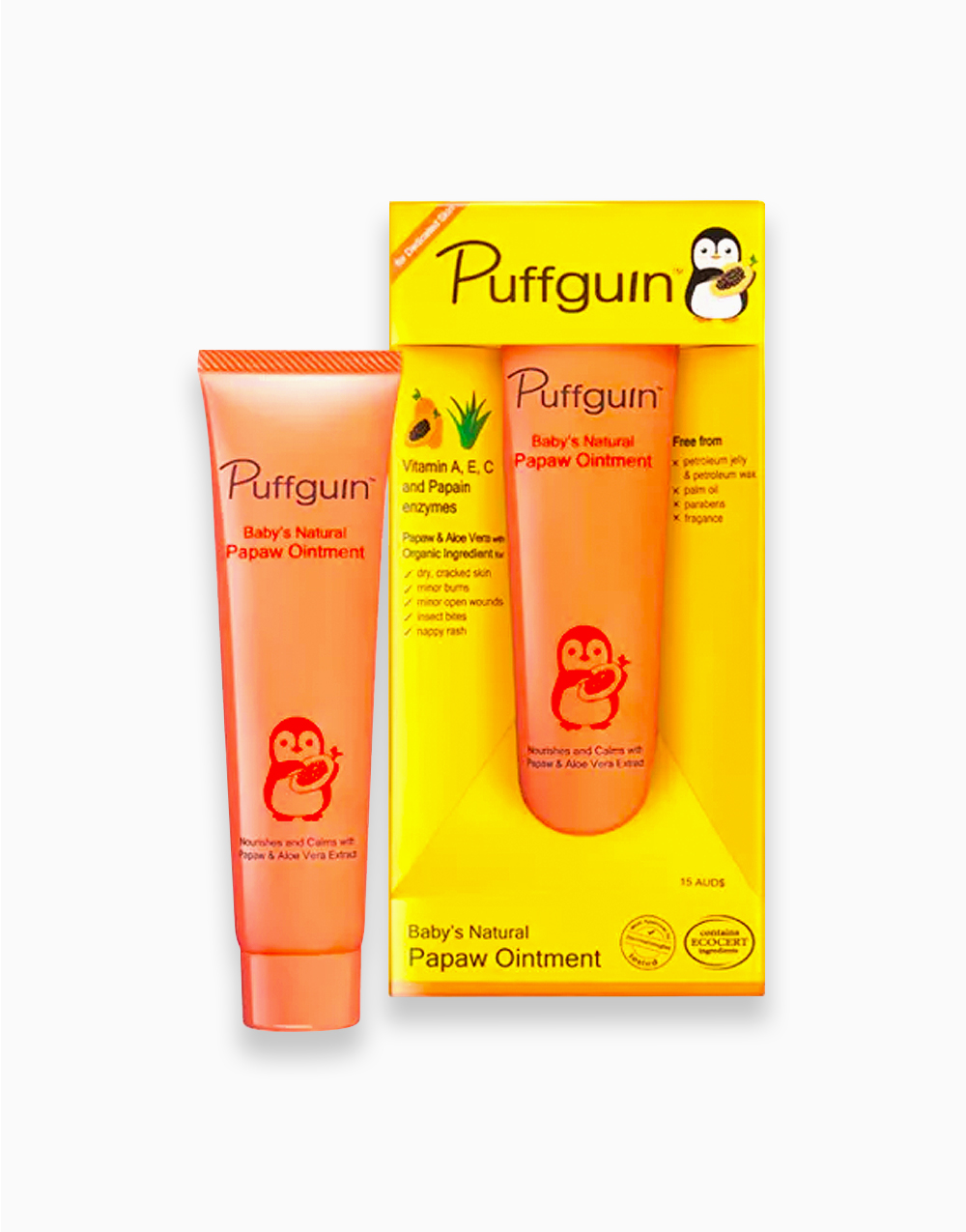 Puffguin Papaw Ointment (30g) by Puffguin
