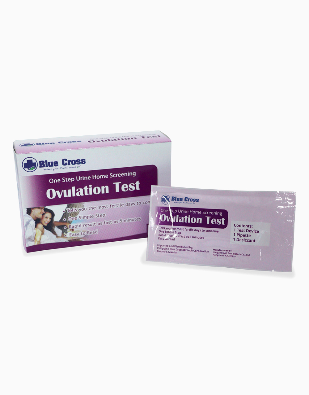 Ovulation Test Kit (5s) by Blue Cross