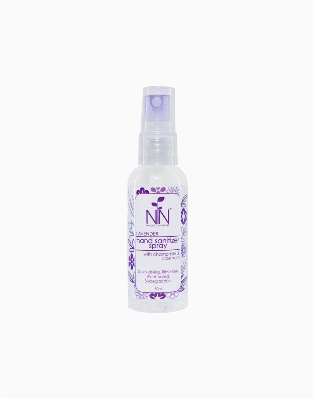Hand Sanitizer (50ml) by Nature to Nurture | Lavender