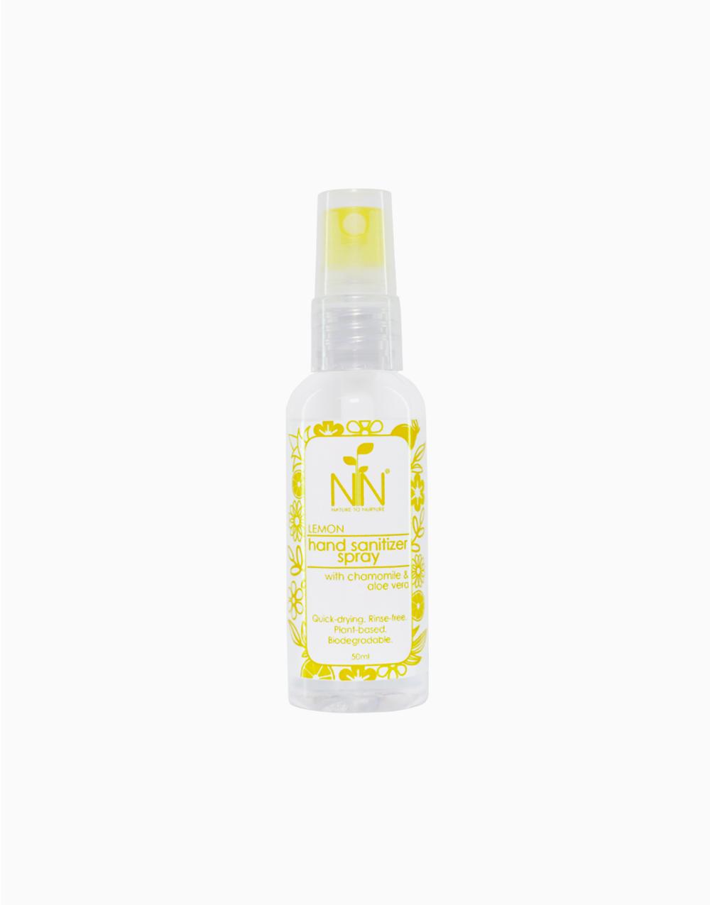 Hand Sanitizer (50ml) by Nature to Nurture | Lemon