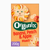 Organix banana peach apple muesli