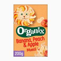 Banana, Peach & Apple Muesli (200g) by Organix