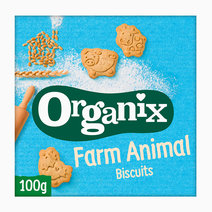 Organix farm animal biscuits 100g