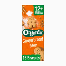 Gingerbread Men Biscuits (135g) by Organix