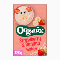 Organix strawberry banana porridge