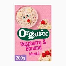 Organix raspberry banana muesli