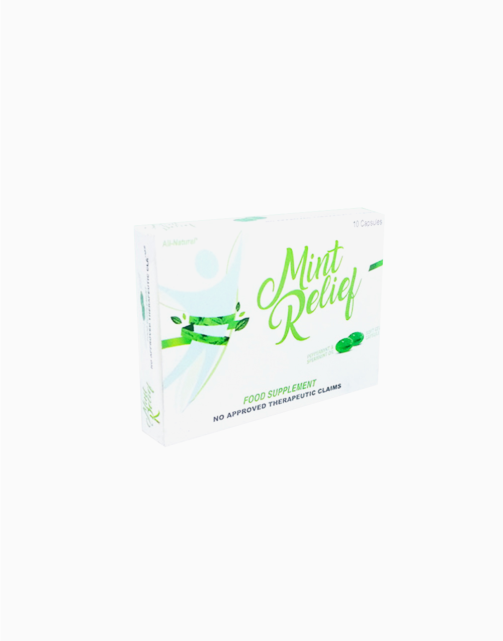 Mint Relief (10 Softgel Capsules) by Mint Relief