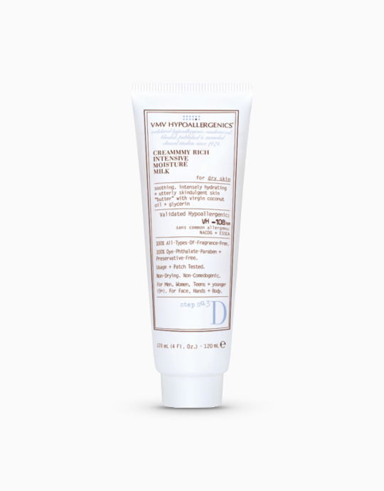Creammmy-Rich Intensive Moisture Milk for Dry Skin by VMV Hypoallergenics