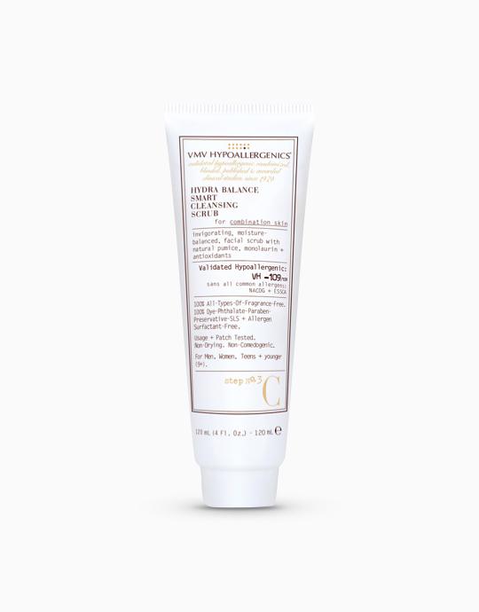 Hydra Balance Smart Cleansing Scrub for Combination Skin by VMV Hypoallergenics