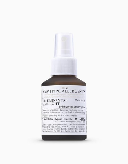 Illuminants+ Axillight: Treatment Antiperspirant by VMV Hypoallergenics