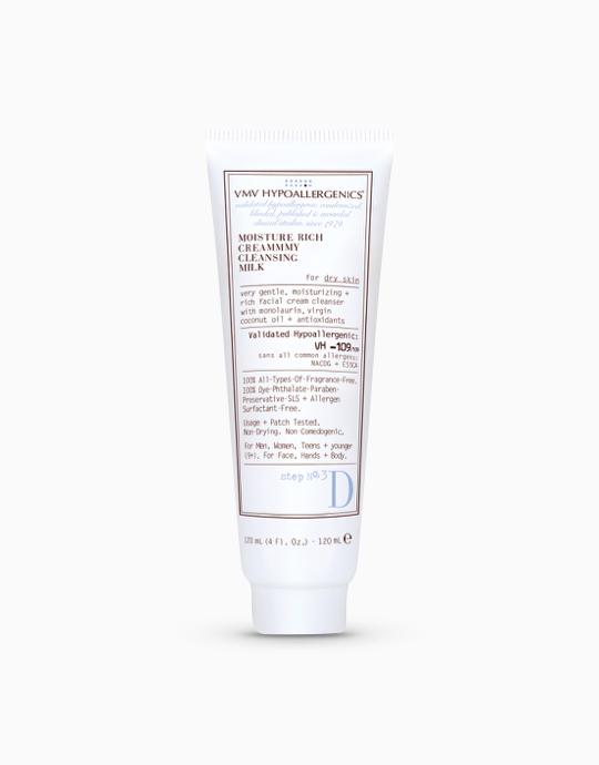 Moisture Rich Creammmy Cleansing Milk for Dry Skin by VMV Hypoallergenics
