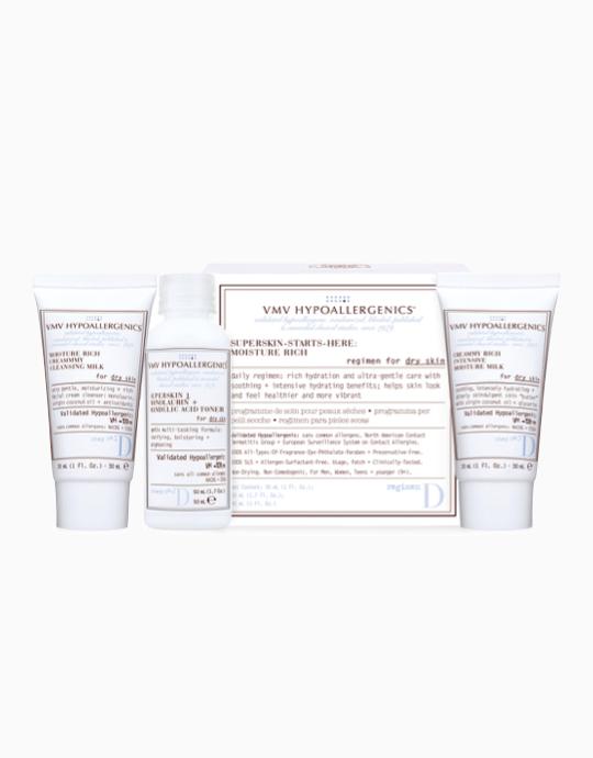 Superskin-Starts-Here Set: Moisture Rich for Dry Skin by VMV Hypoallergenics