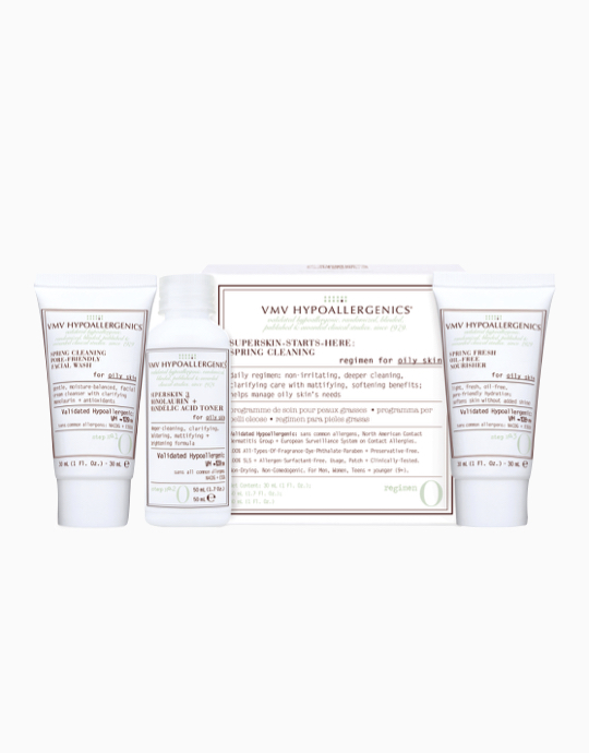 Superskin-Starts-Here Set: Spring Cleaning for Oily Skin by VMV Hypoallergenics