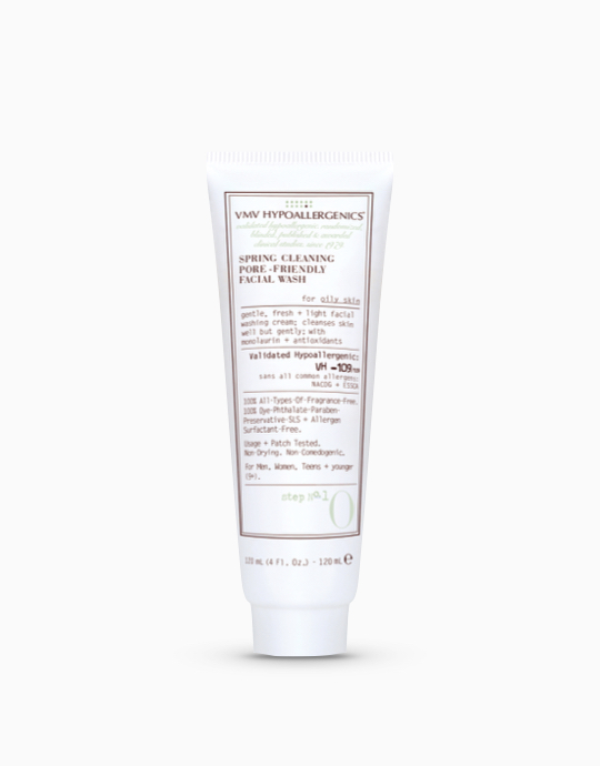 Spring Cleaning Pore-Friendly Facial Wash for Oily Skin by VMV Hypoallergenics