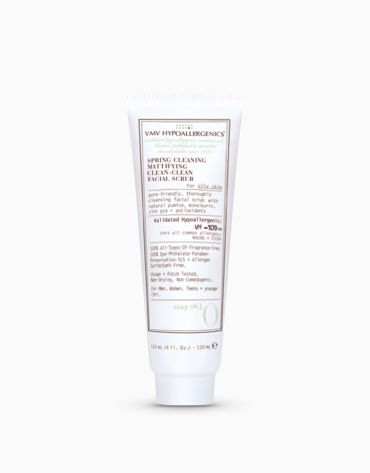 Spring Cleaning Mattifying Clean-Clean Facial Scrub by VMV Hypoallergenics