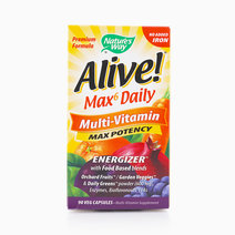 Alive! Daily Multivitamin No Iron (90 Vegetable Capsules) by Nature's Way