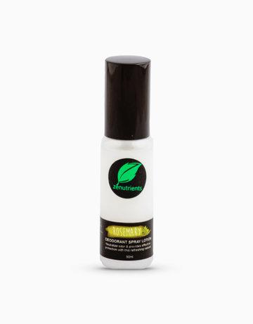 Rosemary Deo Spray (50ml) by Zenutrients