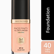 Maxfactor  facefinity 3in1 foundation with flexihold  lightivory