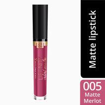 Maxfactor lipfinity velvet matte ls merlot