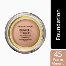 Maxfactor  miracle touch foundation upgrade  warmalmond