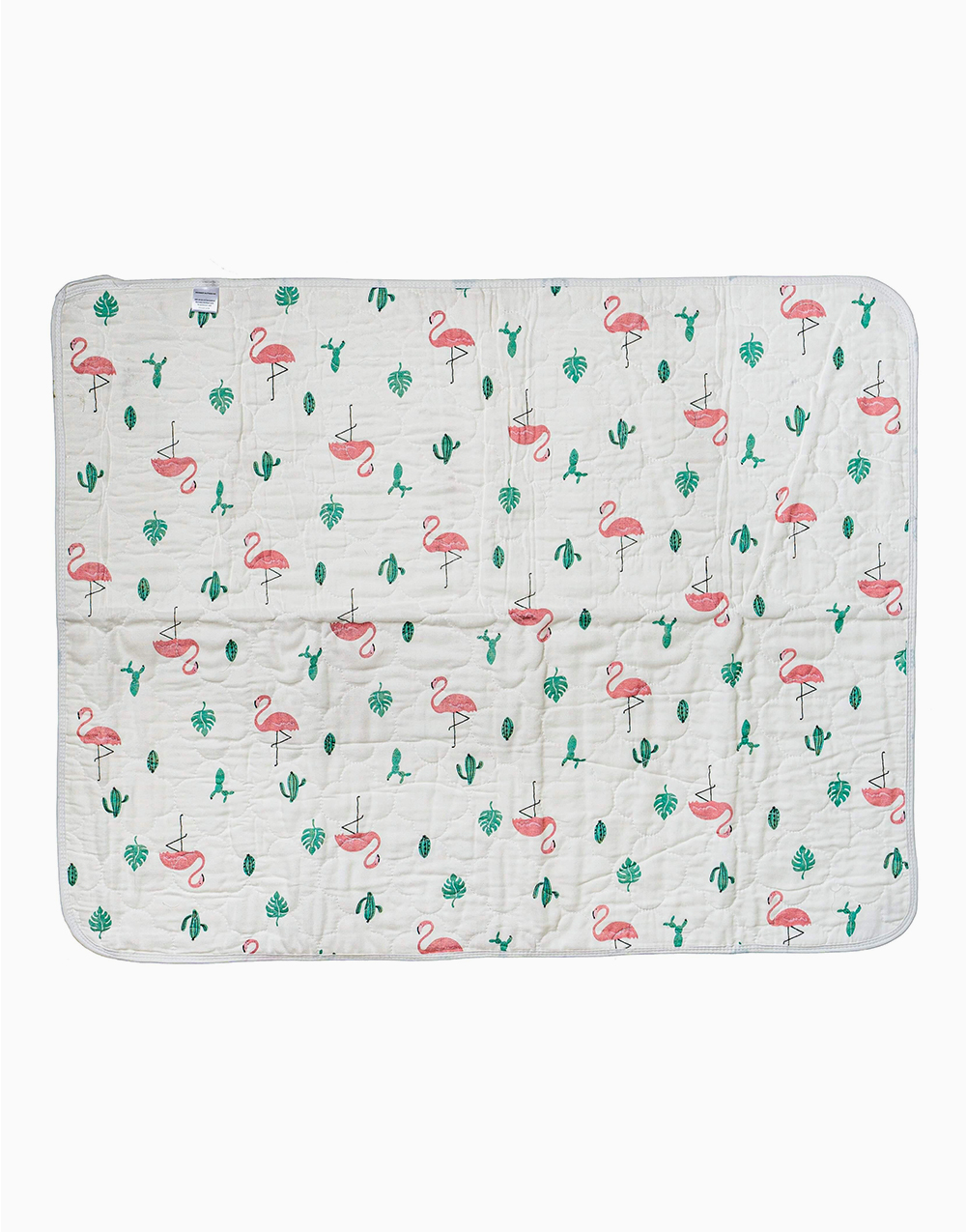 Water Absorbent Bedmats (Flamingos) by Swaddies PH