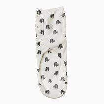 Swaddies ph infant velcro swaddle wrap %28elephants%29