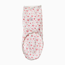 Swaddies ph infant velcro swaddle wrap %28pink hearts%29