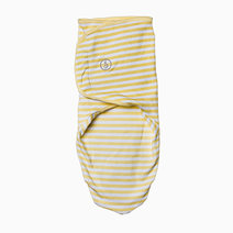 Infant Velcro Swaddle Wrap (Yellow Stripes) by Swaddies PH