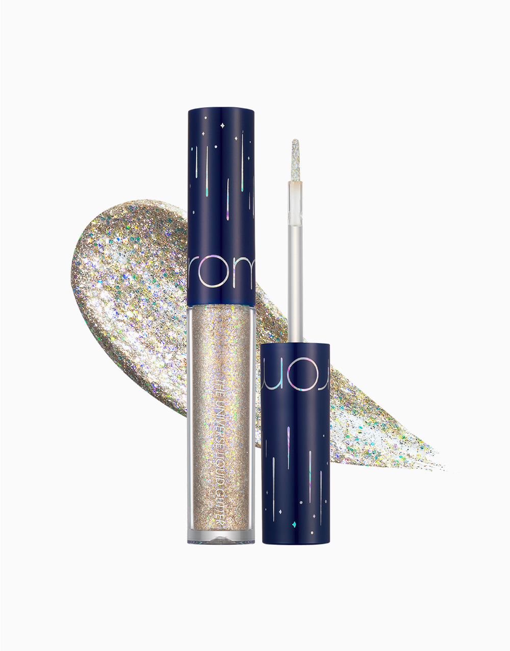 The Universe Liquid Glitter Shadow by Rom&nd | 01 Stardust