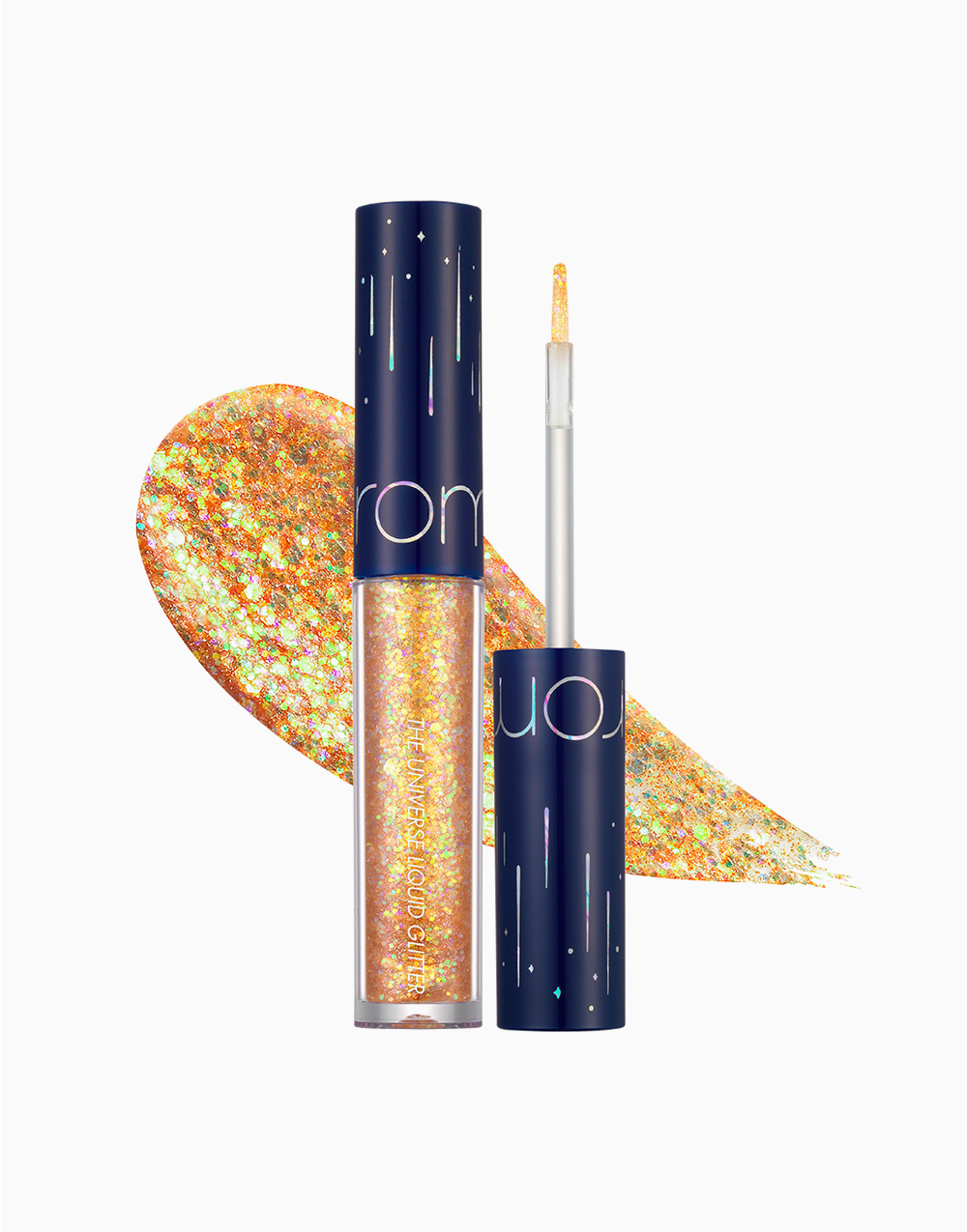 The Universe Liquid Glitter Shadow by Rom&nd | 03 Evening Star