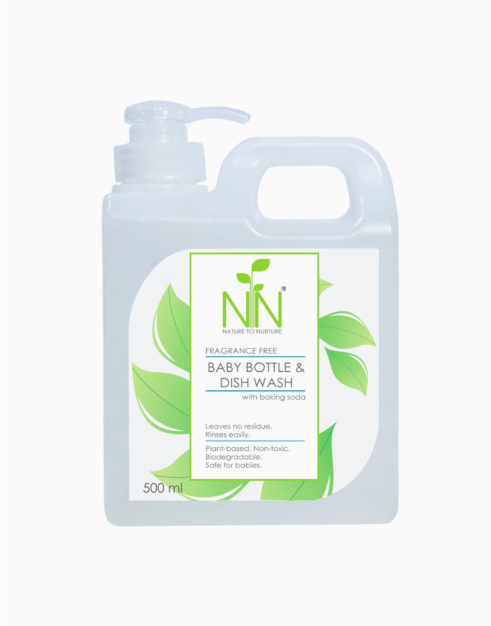 Baby Bottle & Dish Wash (500ml) by Nature to Nurture