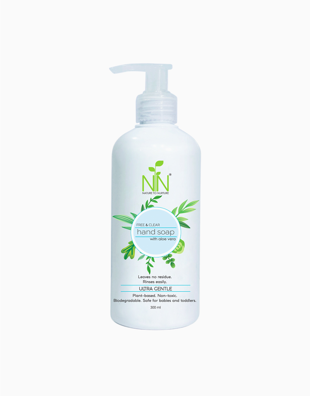 Hand Soap With Aloe Vera by Nature to Nurture | Fragrance-Free