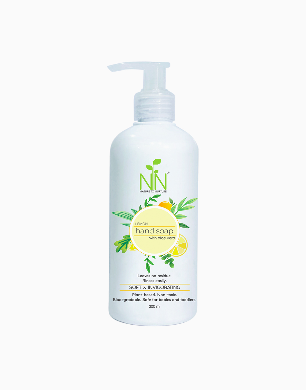 Hand Soap With Aloe Vera by Nature to Nurture | Lemon