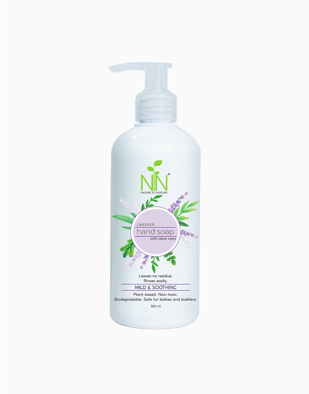 Hand Soap With Aloe Vera by Nature to Nurture | Lavender
