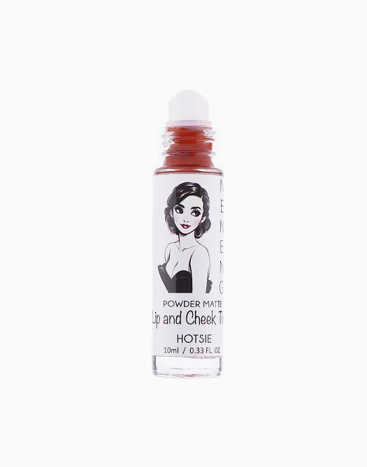 Powder Matte Lip and Cheek Tint by Neneng | Hotsie (Warm Brick Red)