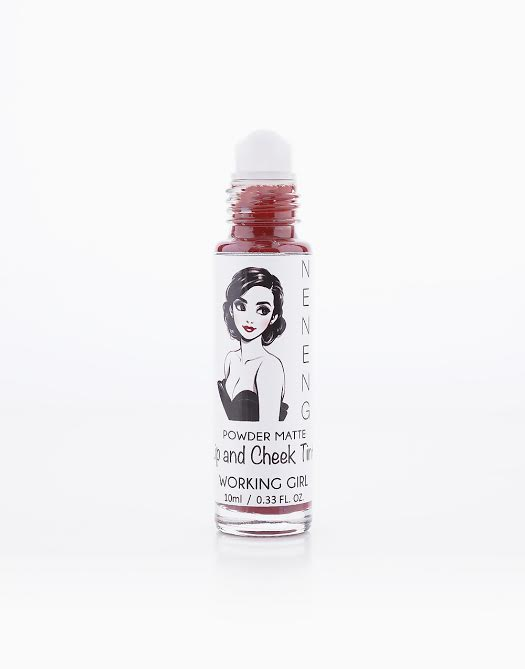 Powder Matte Lip and Cheek Tint by Neneng | Working Girl (Peachy Brown)
