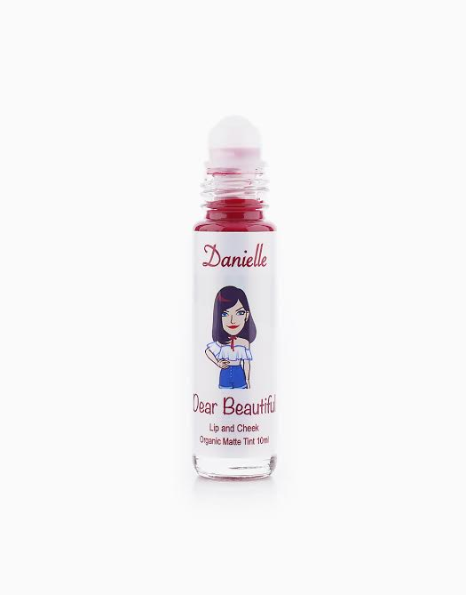 All Natural Lip and Cheek Tint by Dear Beautiful | Danielle (Red Wine in Matte)